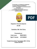Informe de Economia Agricola__el Campesino y La Industria