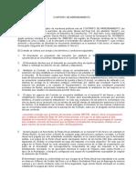 Contrato de Arrendamiento Para Estacion de Telecomunicaciones