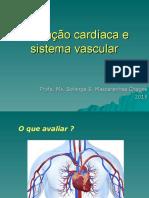 Avaliação cardíaca