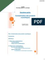 2vf- Contamination Des Produits Cosmétiques