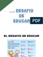 DESAFIO DE EDUCAR