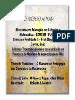 O Projeto Atman - Resenha Do Livro