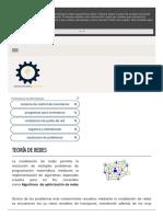 Teoría de Redes - Ingeniería Industrial153734