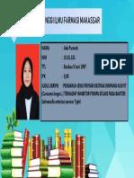 Contoh Slide Identitas Mahasiswa Wisuda 2019