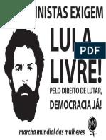 Lambe por Lula Livre