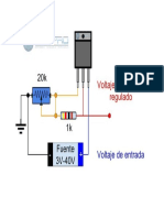 Circuito Para Regulador de Voltaje Variable