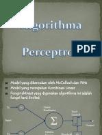 Algoritma Perceptron