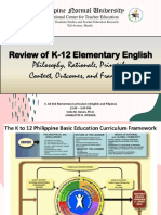 Review of K-12 Elementary English