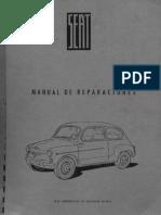 Fiat & Seat 600 Manual de Taller Oficial