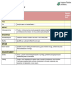 ANDJ Narrative Review Checklist