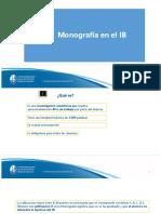 Monografía IB