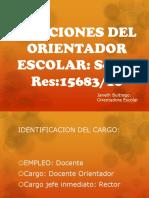 FUNCIONES ORIENTADOR