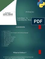 Python Training Ppt