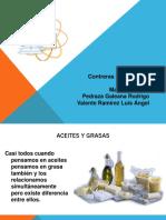 Aceites y Grasas