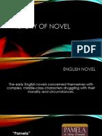 History of Novel
