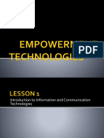 E-Tech Lesson 1