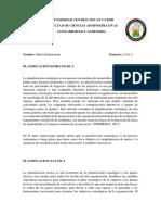 Planificacion Estrategica Tactica y Operativa
