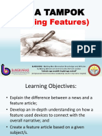 Feature Writing Ppt