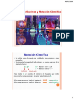 Cifras Significativas y Notación Científica