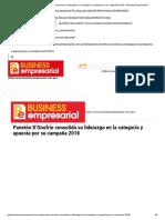 Panetón D'Onofrio Consolida Su Liderazgo en La Categoría y Apuesta Por Su Campaña 2018 – Business Empresarial