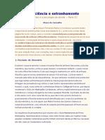 Olavo de Carvalho - Consciência e Estranhamento