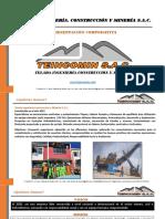 Brochure - Teincomin SAC - Octubre 2019