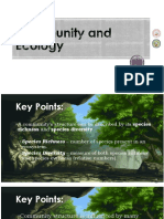 Community and Ecology