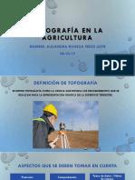 Topografía en La Agricultura [Autoguardado]