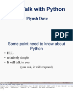 Python Learinng Material