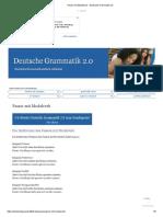 Passiv Mit Modalverb - Deutsche Grammatik 2.0