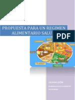 Propuesta Regimen Alimentario