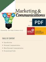 Marketing & Communication Presentation