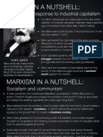 Marxism in a Nutshell