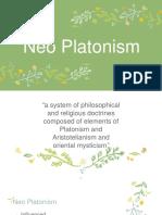 Neo Platonism