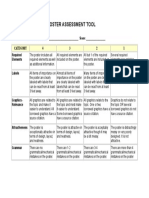 Making a Poster Rubric 1
