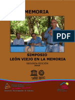 Simposio León Viejo en La Memoria 2da Edición