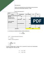 Calculo de Calibre de Conductores