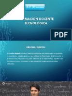 Formacion Docente tecnologica