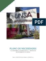 PLANO DE NECESIDADES VIJICSA S.A.