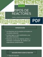 Expo de Tipos de Reactores