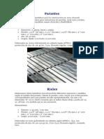 Requerimientos Drywall
