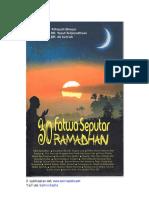 30 Fatwa Ramadhan - Tanya Jawab Ustadz Abdul Somad