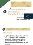 Creencias basicas de la Iglesia Cristiana (Discipulos de Cristo)