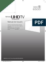 Manual Samsung TV 6500
