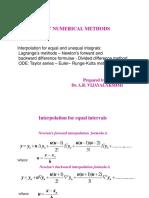 langranges interpolation method