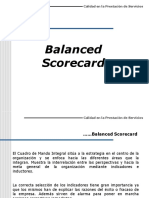 Balanced Score Card Aplicacion e Implementacion