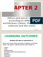 CHAPTER 2 Ethics and Moral Values