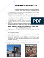Solid and Hazardous Waste 1