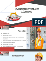 Ppt Seguridad en Trabajos Electricos