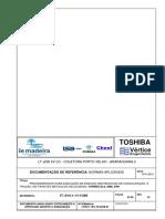 LTRA1-1B-LT5-0248-01 Procedimento Para Ensaios de Convalidação